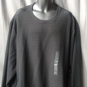Sean John Men's Textured Black Sweater 4XL